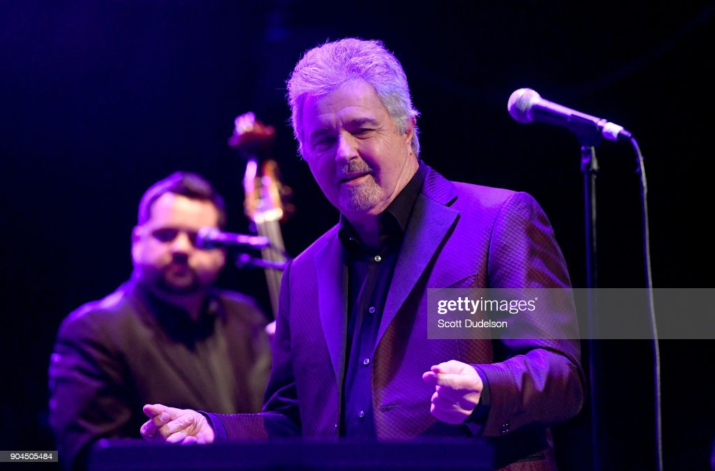 Singer Steve Tyrell performs onstage at The Canyon Club on January 12, 2018 in Agoura Hills, California.