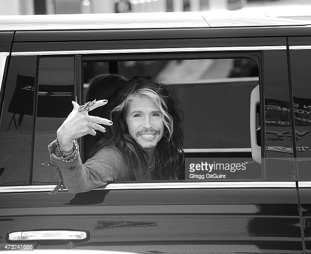 Singer Steven Tyler arrives at the 'American Idol' XIV Grand Finale at the Dolby Theatre on May 13 2015 in Hollywood California