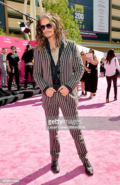 Singer Steven Tyler attends the 2016 Billboard Music Awards at TMobile Arena on May 22 2016 in Las Vegas Nevada