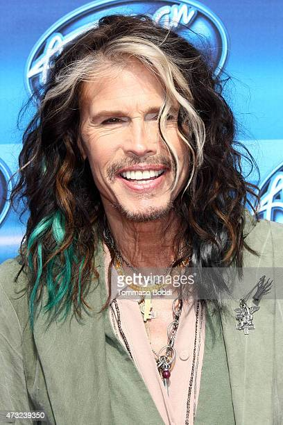 Singer Steven Tyler attends the American Idol XIV grand finale at Dolby Theatre on May 13 2015 in Hollywood California