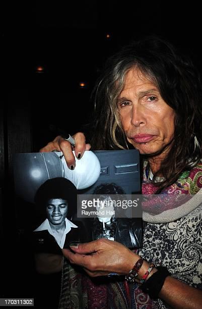 Singer Steven Tyler is seen in Soho on June 10 2013 in New York City