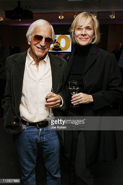 Singer Stevie Holland and musician Gary William Friedman attend the New York Chapter of the National Academy of Recording Arts and Sciences Open...