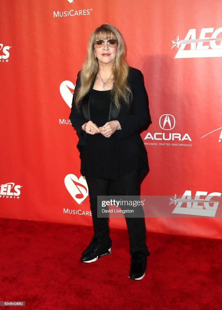 Singer Stevie Nicks attends the 2017 MusiCares Person of the Year honoring Tom Petty on February 10, 2017 in Los Angeles, California.