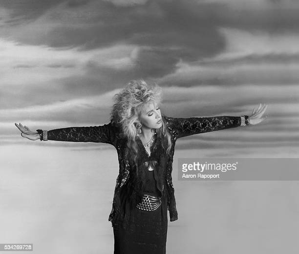 Singer Stevie Nicks shot in Los Angeles California in 1982