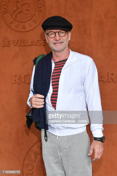 Singer Sting attends the 2019 French Tennis Open Day Five at Roland Garros on May 30 2019 in Paris France