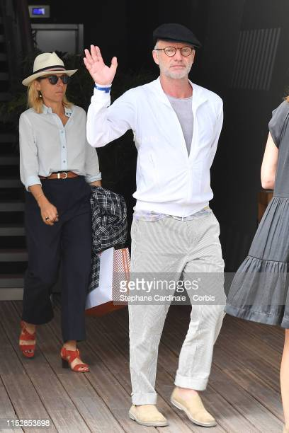 Singer Sting attends the 2019 French Tennis Open Day Six at Roland Garros on May 31 2019 in Paris France