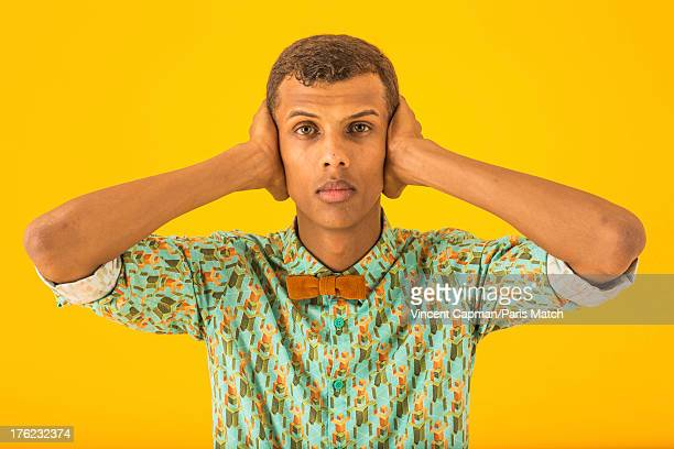 Singer Stromae is photographed for Paris Match on July 23 2013 in Brussels Belgium