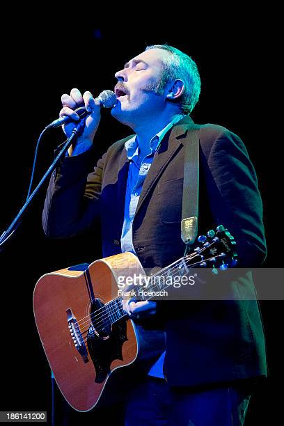 Singer Stuart A Staples of Tindersticks performs live during a concert at the Admiralspalast on October 28 2013 in Berlin Germany