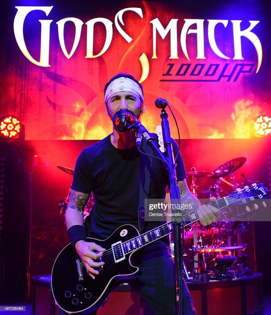 Godsmack Performs Live At The Pearl At Palms Casino Resort Las Vegas