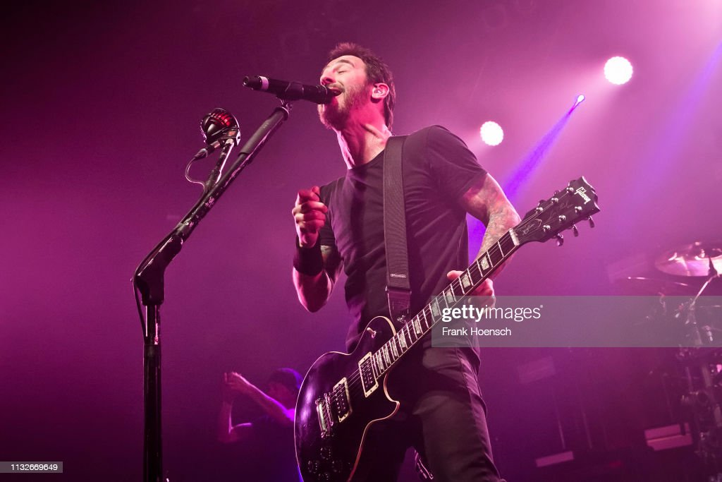 DEU: Godsmack Perform In Berlin