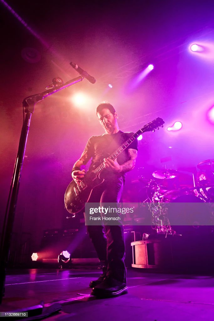 DEU: Godsmack Perform In Berlin