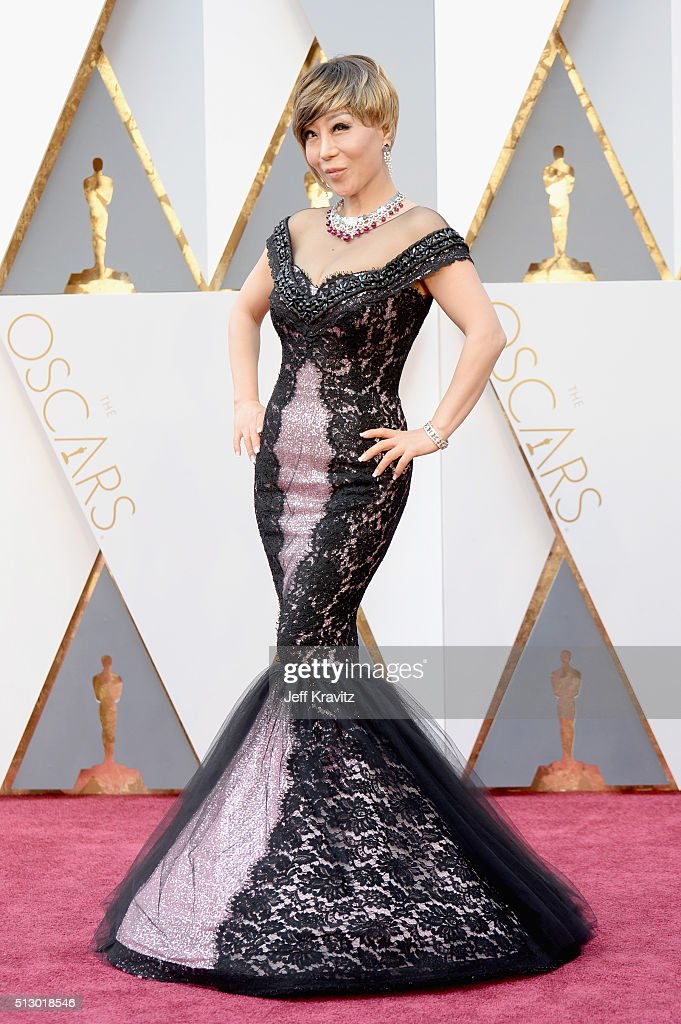 Singer Sumi Jo attends the 88th Annual Academy Awards at Hollywood & Highland Center on February 28, 2016 in Hollywood, California.