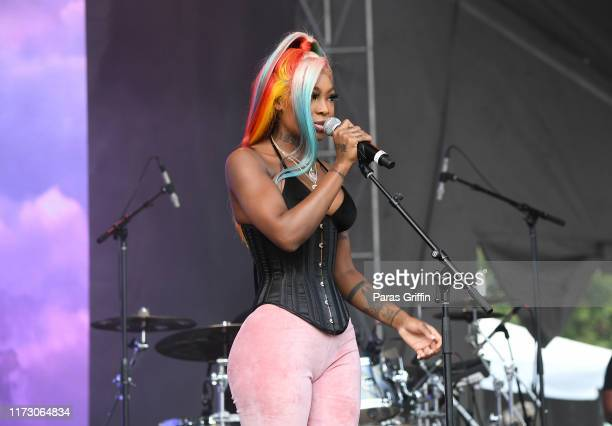 Singer Summer Walker performs onstage during 10th Annual ONE Musicfest at Centennial Olympic Park on September 07 2019 in Atlanta Georgia
