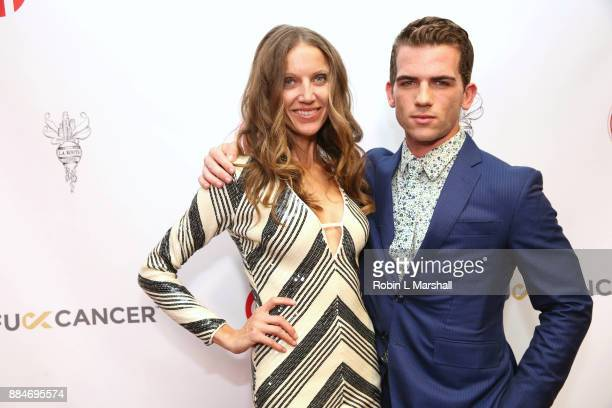 Singer Summer Watson and Actor Bryce McKinney attend the TJ Scott Book Launch for 'In The Tub Volume 2' at Cinematic Pictures Group Gallery on...