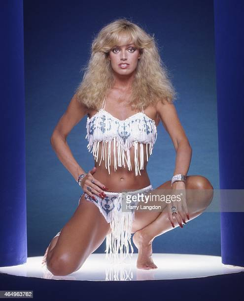 Singer Susan Anton poses for a portrait in 1984 in Los Angeles California