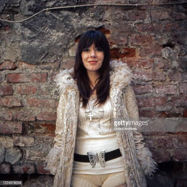 Singer Susan Aviles, Germany, 1960s.