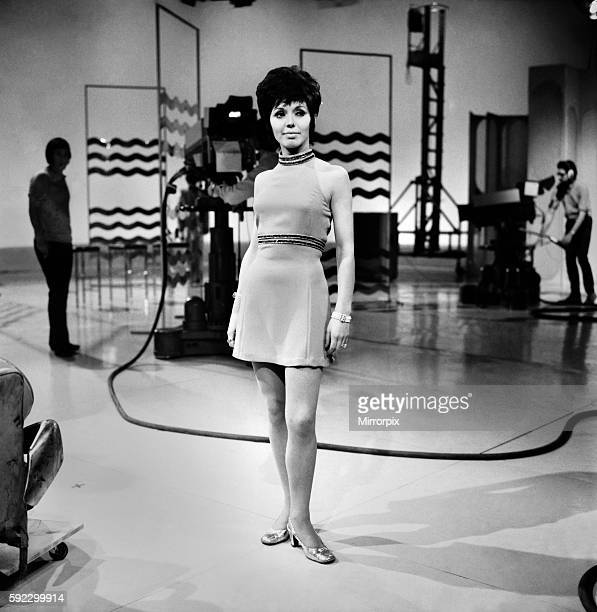 Singer Susan Maughan taken on the set of The Saturday Crowd at the London Weekend Television studios at Wembley November 1969 Z11306003