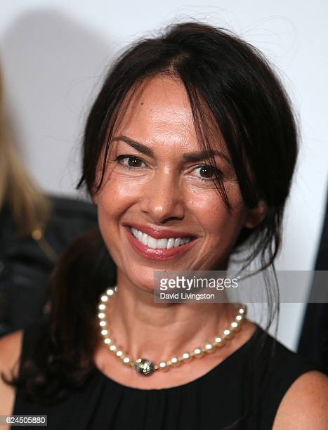 Singer Susanna Hoffs of The Bangles attends the Talk of the Town Gala 2016 at The Beverly Hilton Hotel on November 19 2016 in Beverly Hills California