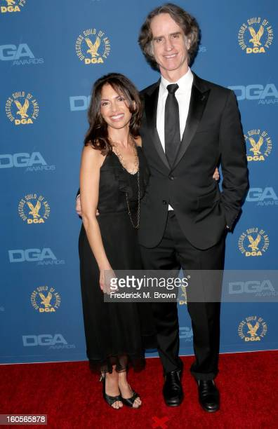 Singer Susannah Hoffs and director Jay Roach attend the 65th Annual Directors Guild Of America Awards at Ray Dolby Ballroom at Hollywood Highland on...