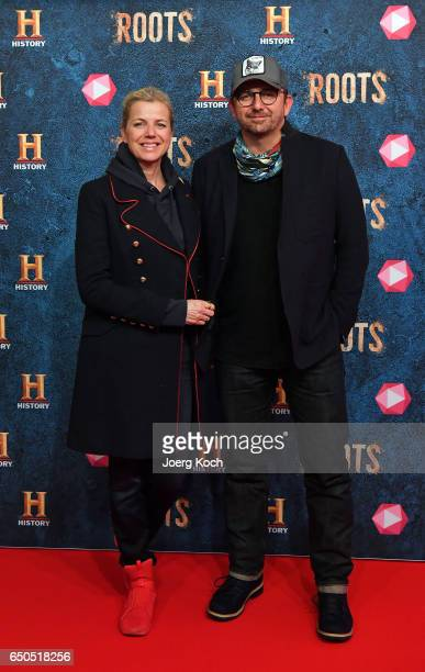 Singer Susanne and actor Hans Sigl attend the HISTORY and Telekom preview screening of the new drama series 'Roots' on March 9 2017 in Munich Germany...