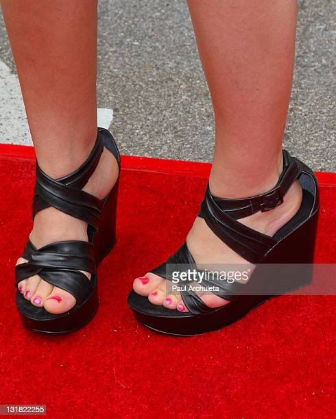 Singer Sydney Wiklund arrives at the Dream Magazine summer kick off and clothing line debut fashion show benefiting Caley Camarillo at The Painted...