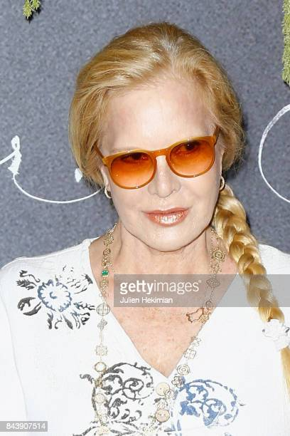Singer Sylvie Vartan attends the French Premiere of 'mother' at Cinema UGC Normandie on September 7 2017 in Paris France