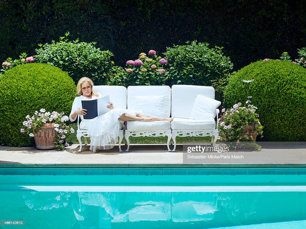 Singer Sylvie Vartan is photographed for Paris Match on July 17, 2015 in Los Angeles, California.