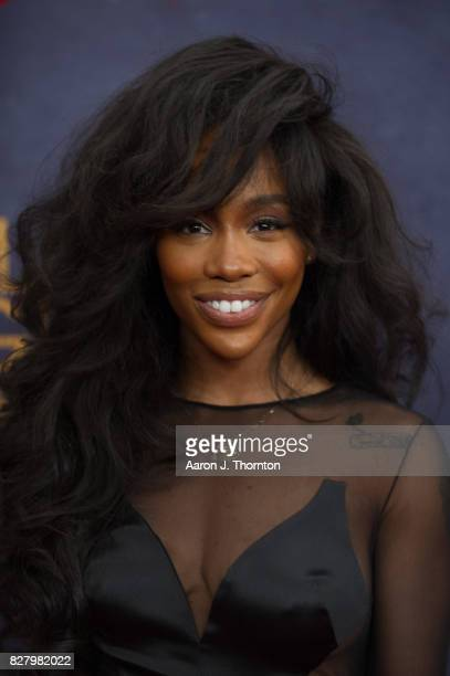 Singer SZA attends Black Girls Rock at New Jersey Performing Arts Center on August 5 2017 in Newark New Jersey
