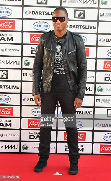 Singer Taio Cruz walks on the red carpet during the MTV World Stage VMAJ 2010 at Yoyogi National Gymnasium on May 29 2010 in Tokyo Japan