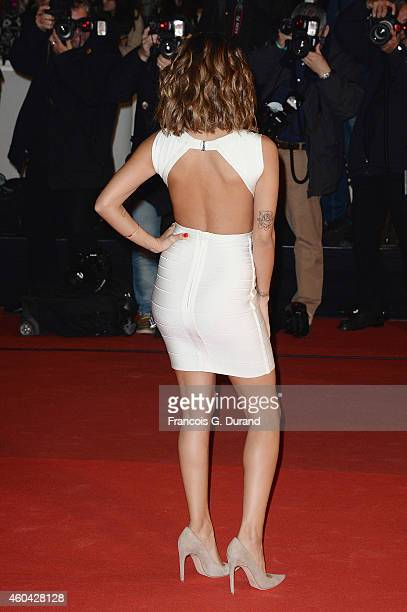 Singer Tal arrives at the 16th NRJ Music Awards at Palais des Festivals on December 13 2014 in Cannes France