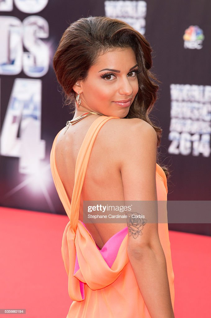 Singer Tal arrives at the World Music Awards at Sporting Monte-Carlo on May 27, 2014 in Monte-Carlo, Monaco.