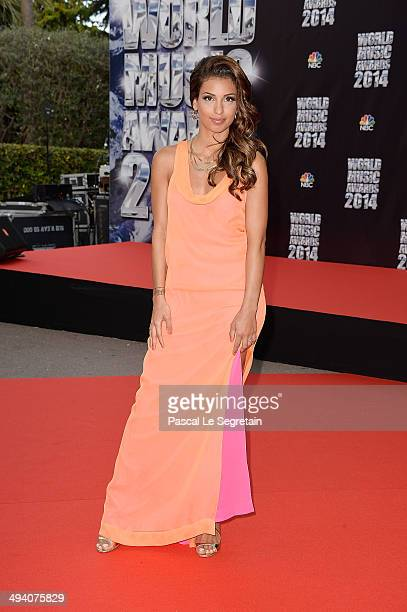 Singer Tal arrives the World Music Awards at Sporting MonteCarlo on May 27 2014 in MonteCarlo Monaco