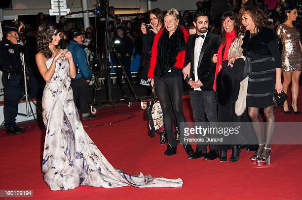 Singer Tal attends the NRJ Music Awards 2013 at Palais des Festivals on January 26 2013 in Cannes France