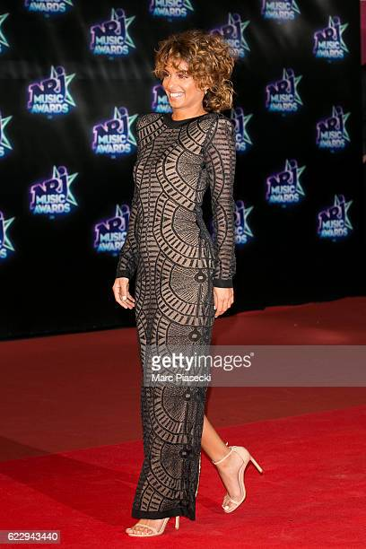 Singer Tal Benyezri aka Tal attends the 18th NRJ Music Awards at Palais des Festivals on November 12 2016 in Cannes France