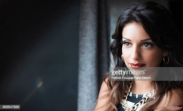 Singer Tal is photographed for Paris Match on August 30 2013 in Paris France