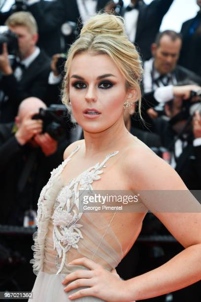 Singer Tallia Storm attends the screening of 'Sorry Angel ' during the 71st annual Cannes Film Festival at Palais des Festivals on May 10 2018 in...