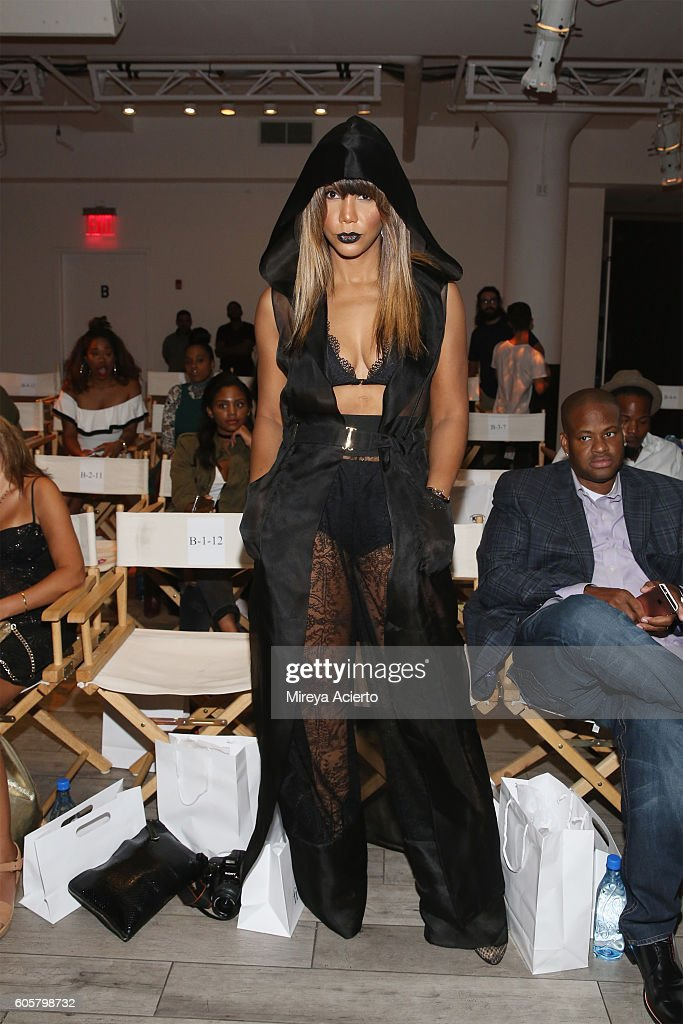 Singer, Tamar Braxton attends FrontRow fashion show during Style360 NYFW September 2016 at Metropolitan West on September 14, 2016 in New York City.