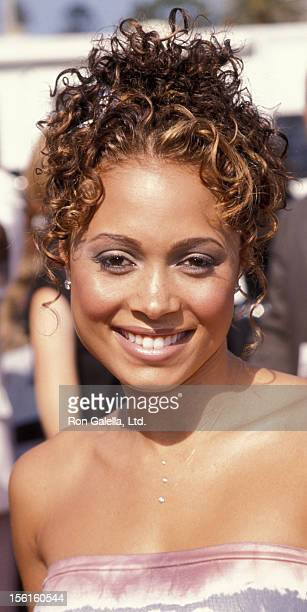 Singer Tamia attending Fourth Annaul Soul Train Lady of Soul Awards on September 3 1998 at the Santa Monica Civic Auditorium in Santa Monica...