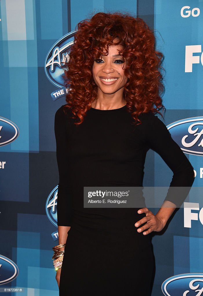 Singer Tamyra Gray attends FOX's 'American Idol' Finale For The Farewell Season at Dolby Theatre on April 7, 2016 in Hollywood, California.