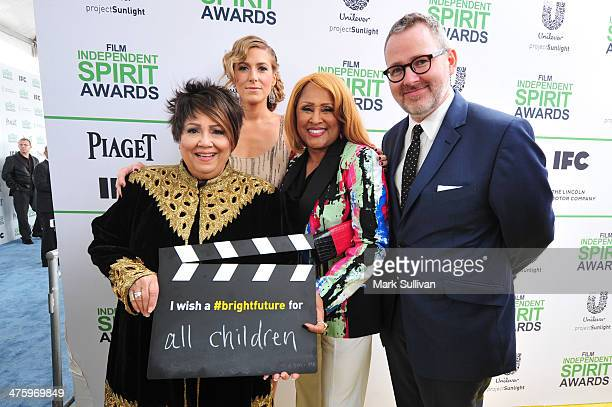 Singer Tata Vega producer Caitrin Rogers singer Darlene Love and director Morgan Neville call ACTION to create a brighter future for all children on...