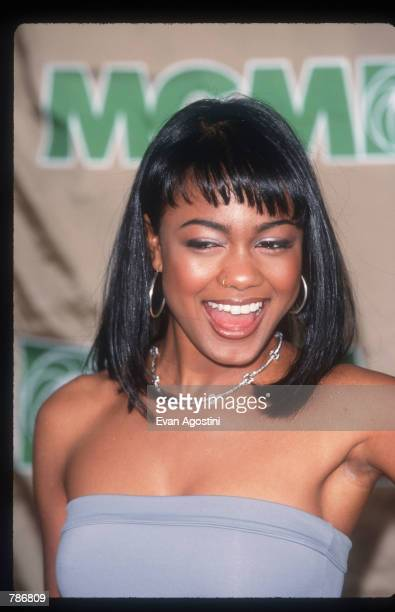 Singer Tatyana Ali poses for a picture December 6 1998 at the Billboard Music Awards in Las Vegas NV Ali performing since the age of four starred as...