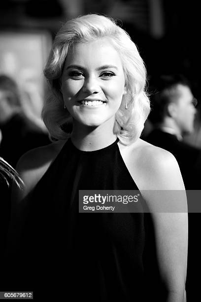 Singer Taya Smith attends the Premiere Of Pure Flix Entertainment's Hillsong Let Hope Rise at the Mann Village Theatre on September 13 2016 in...