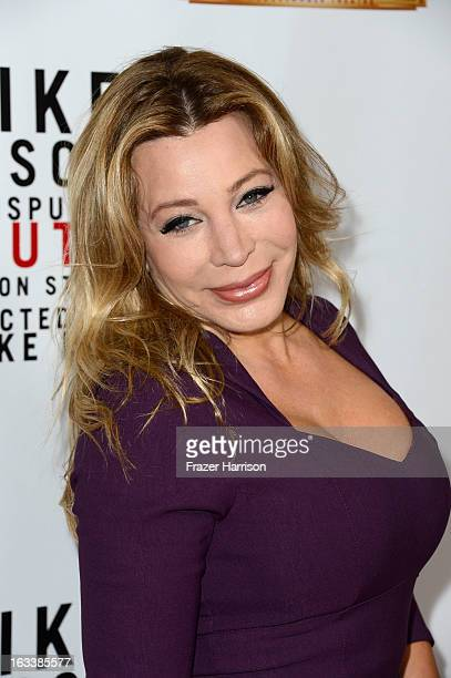 Singer Taylor Dayne arrives at the opening Night Of Mike Tyson Undisputed Truth At The Pantages Theatre at the Pantages Theatre on March 8 2013 in...