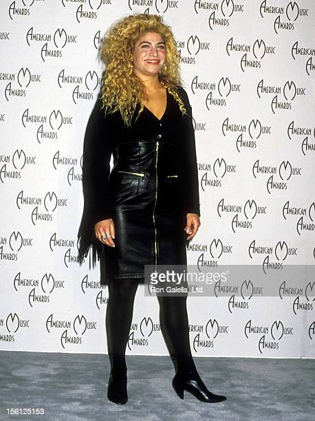Singer Taylor Dayne attends the 16th Annual American Music Awards on January 30 1989 at Shrine Auditorium in Los Angeles California