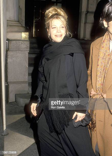 Singer Taylor Dayne attends the 36th Annual Grammy Awards preparty hosted by Clive Davis and Arista Records on February 28 1994 at The Plaza Hotel in...