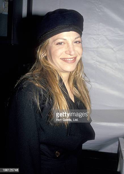 Singer Taylor Dayne attends the Fall '94 Fashion Week Todd Oldman Fashion Show on April 7 1994 at Bryant Park in New York City New York