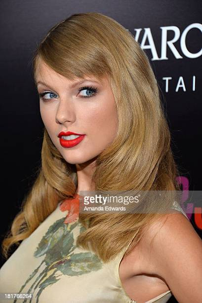 Singer Taylor Swift arrives at the world premiere of 'Romeo and Juliet' at the ArcLight Hollywood on September 24 2013 in Hollywood California