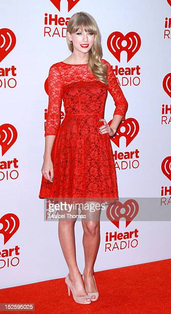 Singer Taylor Swift attends day 2 of the 2012 iHeartRadio Music Festival at MGM Grand Garden Arena on September 22 2012 in Las Vegas Nevada