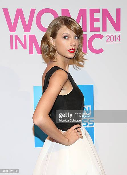 Singer Taylor Swift attends the 2014 Billboard Women In Music Luncheon at Cipriani Wall Street on December 12, 2014 in New York City.