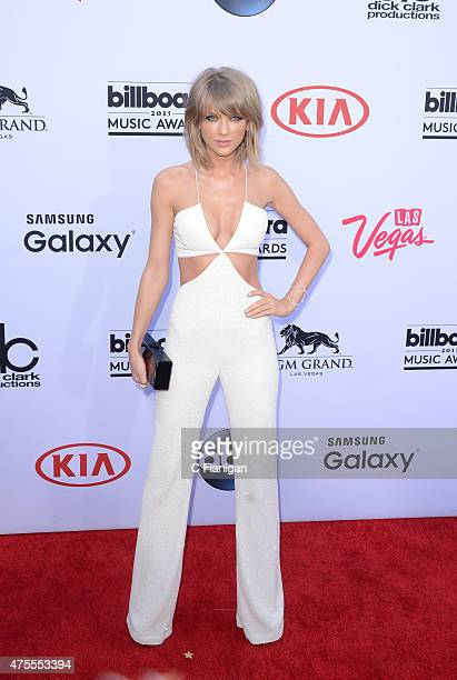 Singer Taylor Swift attends the 2015 Billboard Music Awards at MGM Grand Garden Arena on May 17 2015 in Las Vegas Nevada